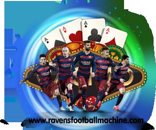 ravensfootballmachine.com Logo